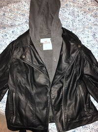 Large hollsiter leather jacket Kapolei, 96707