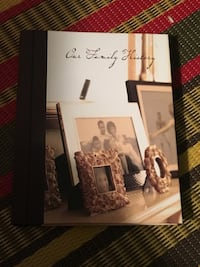 Our family history genealogy log book