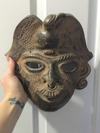 Clay Decorative Mask