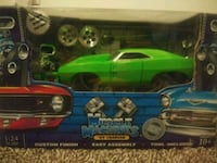 green and black die-cast car toy box Newton, 07860