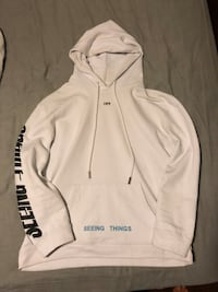 white and black zip-up hoodie Whitchurch-Stouffville, L4A
