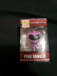 Pink Power Ranger keychain