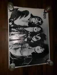 Vintage Kiss 1976 Poster