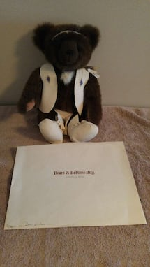 Squilax Numbered Bear with Certificate