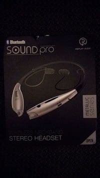 bluetooth soundpro stero headset  Vaughan, L4J 8A6