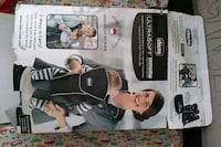 black and gray and white infant two way carrier Sacramento, 95823