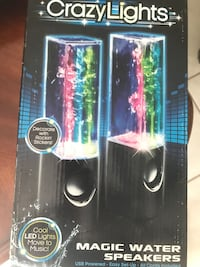 Open box crazy  light magic water speakers Lake Worth, 33463