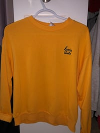 Orange sweater from h&m, size small Kitchener, N2R 1W9