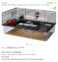New Hamster Cage Mississauga, L5M 3Y2