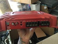 red Sony Xplod power amplifier Las Vegas, 89113