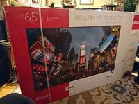 Brand new 4k ultra hd tv still in box never opened 506 km