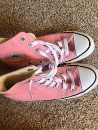 Pair of pink converse all star high top sneakers Stephens City, 22655