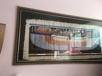 Authentic Egyptian papyrus valuable Persian antique frame Toronto, M7A 2G8