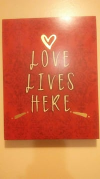 Love Likes Here wall decor McMinnville, 37110