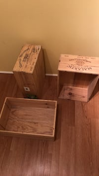 Wine crates Vancouver, V6H 2R1