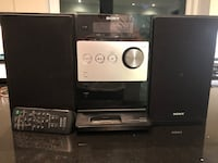 Sony compact Dis/ receiver.  Richmond Hill