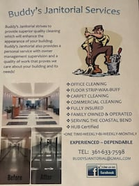 Commercial cleaning Portland, 78374