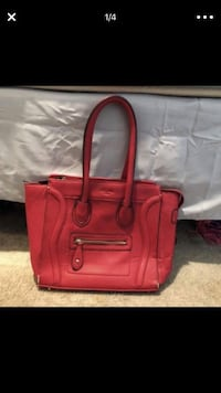 red leather 2-way bag Bethesda, 20814