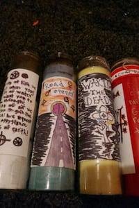 spell candles Sandy