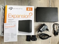 SEAGATE 2TB EXPANSİON 3.5 İNÇ HARİCİ HDD