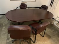Conference table and 5 chairs Fort Collins, 80528