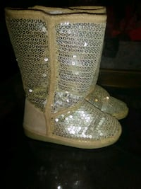 Sparkly boots size 11