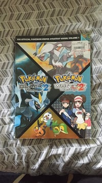 Pokemon black 2 and white 2 strategy guide book Mansfield, 02048