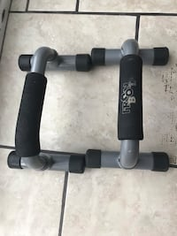 black and gray exercise equipment Ottawa, K2J 4K4