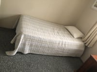 2 free single beds