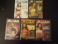 Jillian Michaels Workout DVDs Unopened Woodbridge