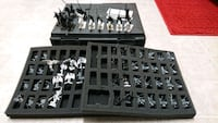 Dark Elf Warhammer army with case 39 km