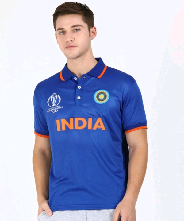 Indian Cricket World Cup 2019 Jersey