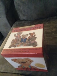 Teddy time stackable playtime boxes in original packaging Hamilton, L8E 1G5