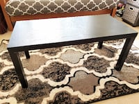 Black wooden coffee table and side Table 11 km
