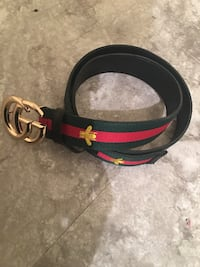 black and red Gucci belt Washington, 20020