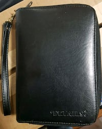 Details: Double Zippered Leather Dayplanner/Wallet Calgary, T3J 3J7