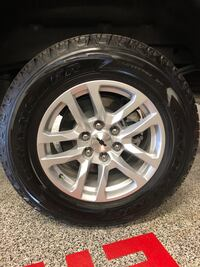 New Goodyear tires 265/65R18