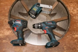 Bosch drill impact driver and light