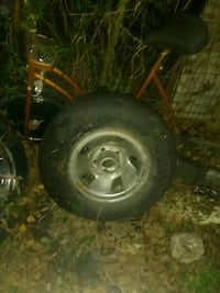 5 lug truck rim and tire
