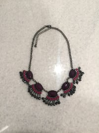Purple & pink necklace
