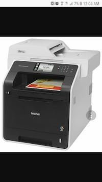 Brother Printer RMFCL8850CDW Wireless Color Laser
