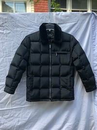 Girls winter down feather coat size small  Grand Rapids, 49504
