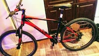black and red hardtail mountain bike Winnipeg, R3G 1M3
