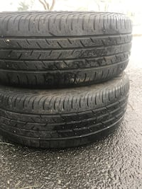 2 tires 205/55r16 continental $50 Leesburg, 20176