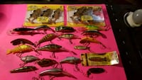 Assorted rapalas & wigglers Spruce Grove, T7X 1X3