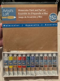 Watercolor Paint and Pad Set