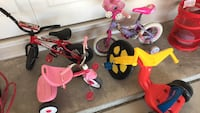 toddler's assorted bicycles Odessa, 79765