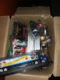 Box full of collectible cars Enterprise, 36330