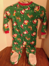 Child's Christmas Fleece Onesie. .... BNWT Oshawa, L1J 4Z3