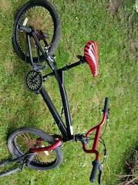 "20"" black and red bike Walkersville, 21793"